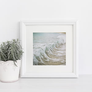 Sea Foam Photographic Print - posters & prints