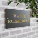 British Slate Traditional Sign, Three Sizes