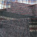 Men's Purple And Red Fabric Scarves