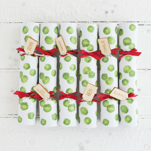 Christmas Sprout Crackers - table decorations