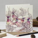 'Ring Necked Pheasants' Christmas Card