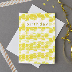 Birthday Notecard