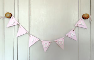 Birthday Bunting - children's room accessories