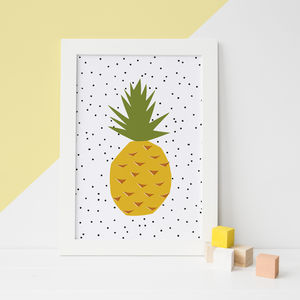 Pineapple Kitchen Art