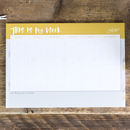 'This Is My Week' Weekly Planner A4 Desk Pad