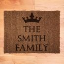 Personalised Crown Doormat