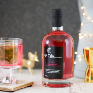 Raspberry And Mint Gin - gifts for her