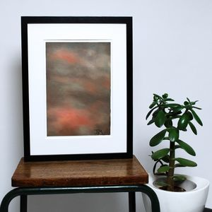 Cloud Series No. Two Original Art Painting - paintings