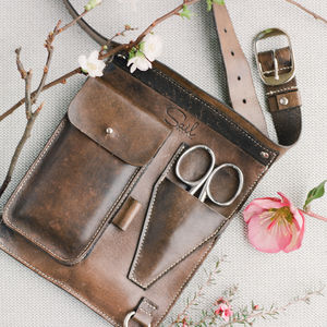 Luxury Gardeners/Florists Belt - tools & equipment