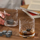 Personalised Botanical Whisky Tumblers