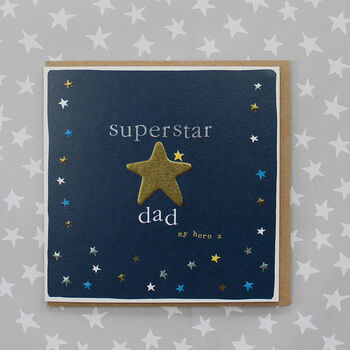 Superstar Dad Card My Hero