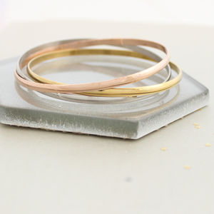 Eternity Russian Ring Bangle - jewellery
