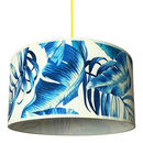 Paradise Blues Tropical Lampshades