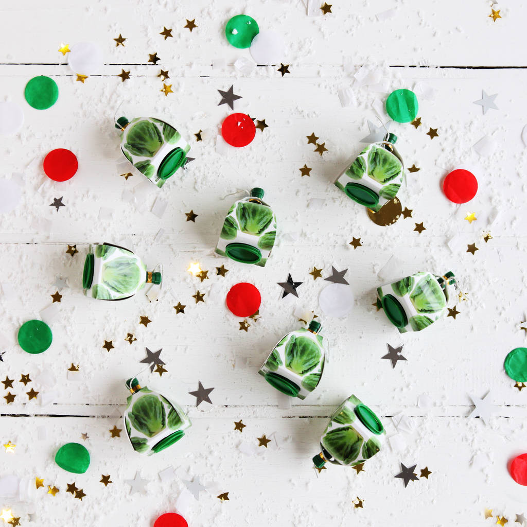 Christmas Brussel Sprout Party Poppers