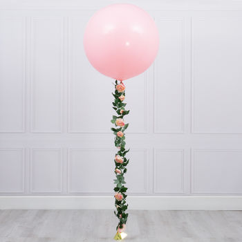 Pink Hydrangea Tail Giant Balloon