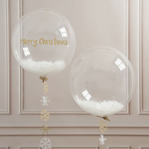 Snowflake Confetti Bubble - room decorations
