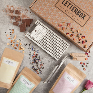 'The Tea Box' Letterbox Gift Set - get well soon gifts