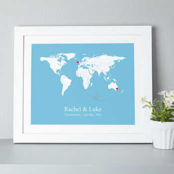 'Tied The Knot' World Edition Print