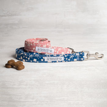 Pink Or Blue Dog Lead/Leash