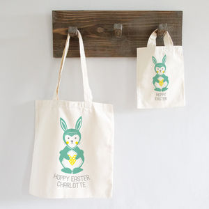 Personalised Scandi Folk Bunny Bag - children's accessories