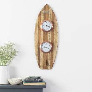 'High Tide' Time And Tide Driftwood Gift Set - clocks