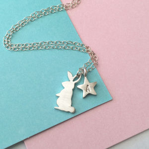 Bunny Rabbit Necklace - necklaces & pendants