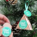 Christmas Decoration With Pink Fizz Lip Balm Inside