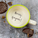 Morning! Handmade Secret Message Cup