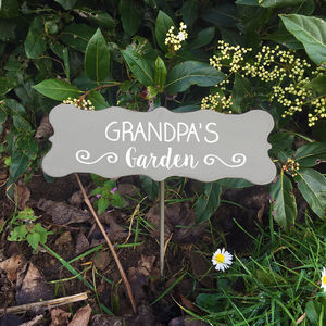 Personalised Garden Plant Markers - plant labels & markers