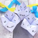 Personalised Wedding Selfie Dare Fortune Tellers