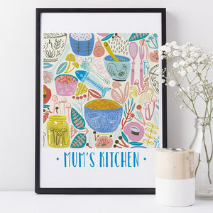 Kitchen Print Gift For Mum