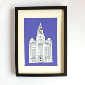 Liver Building, Liverpool Print - posters & prints