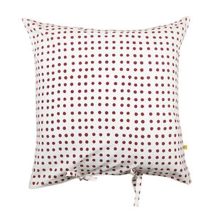 Nohar Irregular Spot Cushion Cover Red
