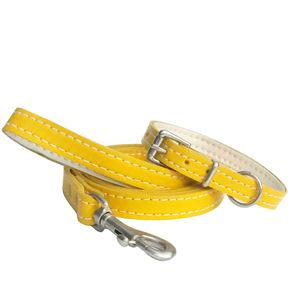 Soft Leather Small Dog Collar - pet collars