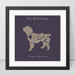 Personalised Cockerpoo Picture