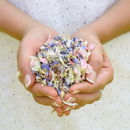 100 Handfuls Of Biodegradable Wedding Confetti