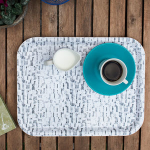 Mono Melamine Tray - kitchen