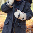 Child's Merino Wool Cloud Mittens