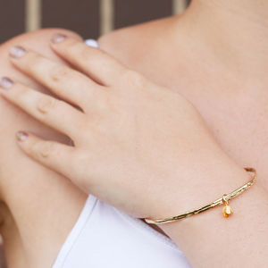 Tiny Bud Bangle - jewellery sale