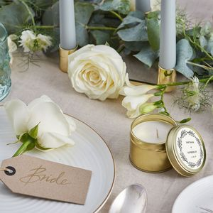 Evermore Personalised Wedding Favour No. 04 - table decorations