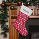 Personalised Christmas Stocking 'Polar Bears'