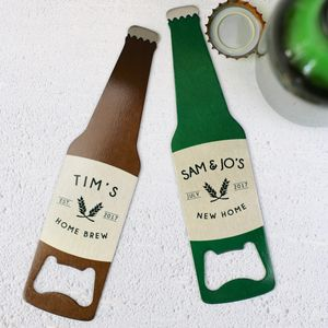 Bottle Opener Personalised Gift - corkscrews & bottle openers