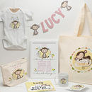 Personalised Monkey Baby Grow