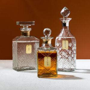 Decanter With Tags - gifts for grandparents