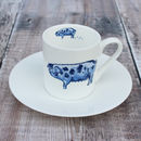'Pig' Espresso Cup And Saucer