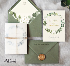 Amelia Wedding Invitation