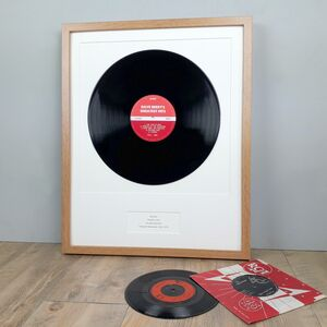 Personalised Framed Vinyl Album Lp