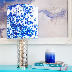 Mesmerise Silk Drum Lampshade - lamp bases & shades