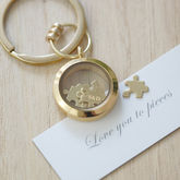 'Love You To Pieces' Keyring - wedding gifts