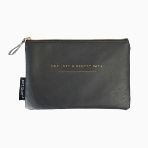 'Not Just A…' Cosmetic Bag